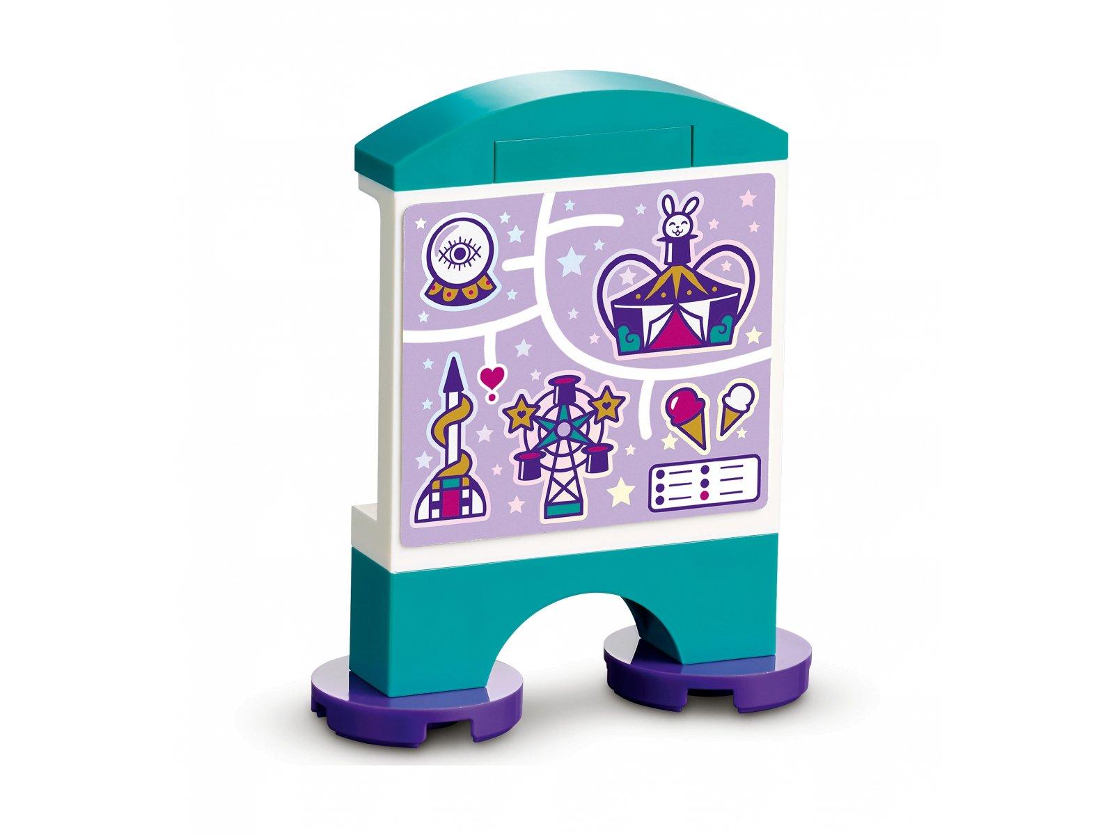 LEGO Friends Magiczny diabelski młyn i zjeżdżalnia 41689