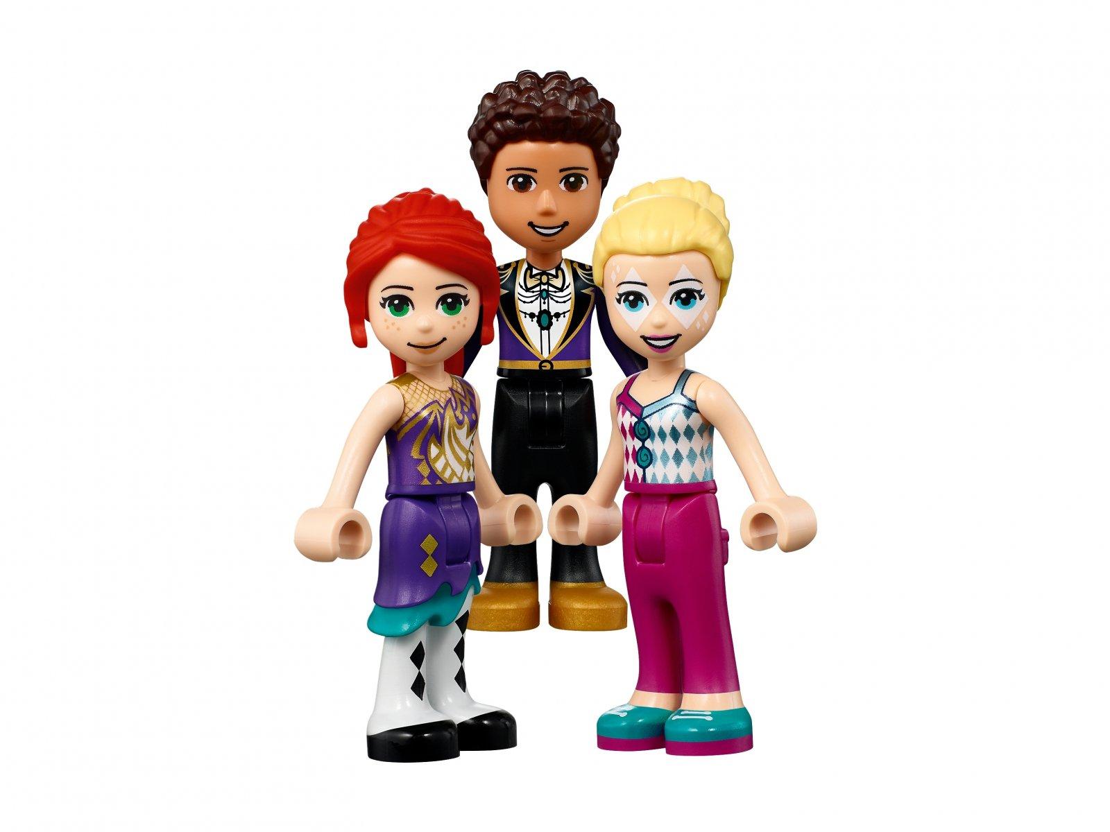 LEGO Friends 41689 Magiczny diabelski młyn i zjeżdżalnia