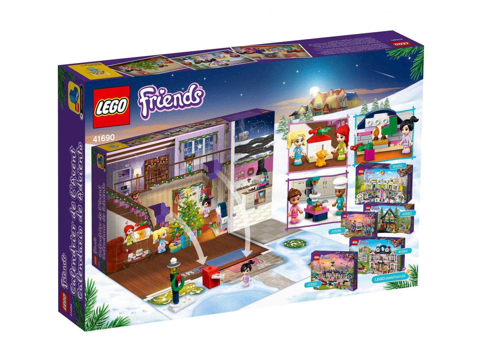 LEGO 41690 Kalendarz adwentowy