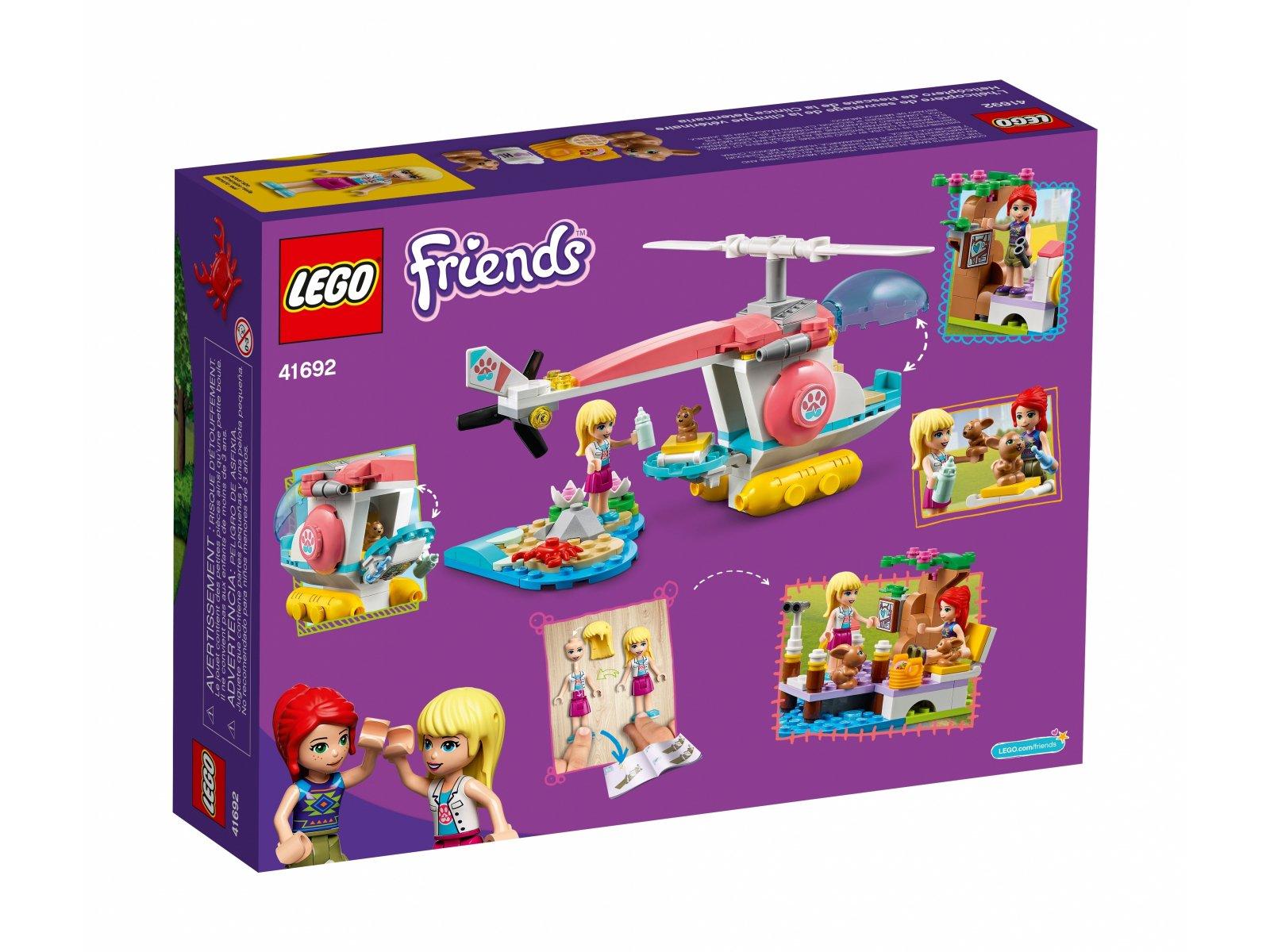 LEGO 41692 Friends Weterynaryjny helikopter ratunkowy
