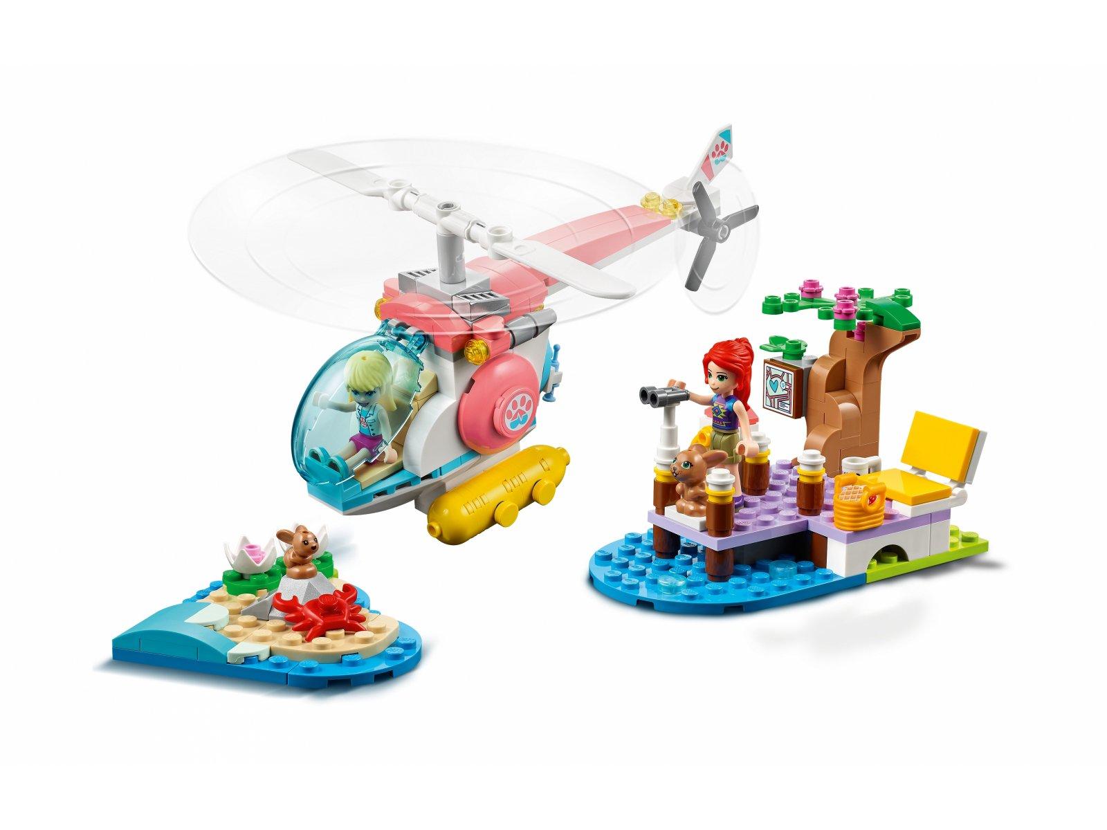 LEGO Friends Weterynaryjny helikopter ratunkowy 41692