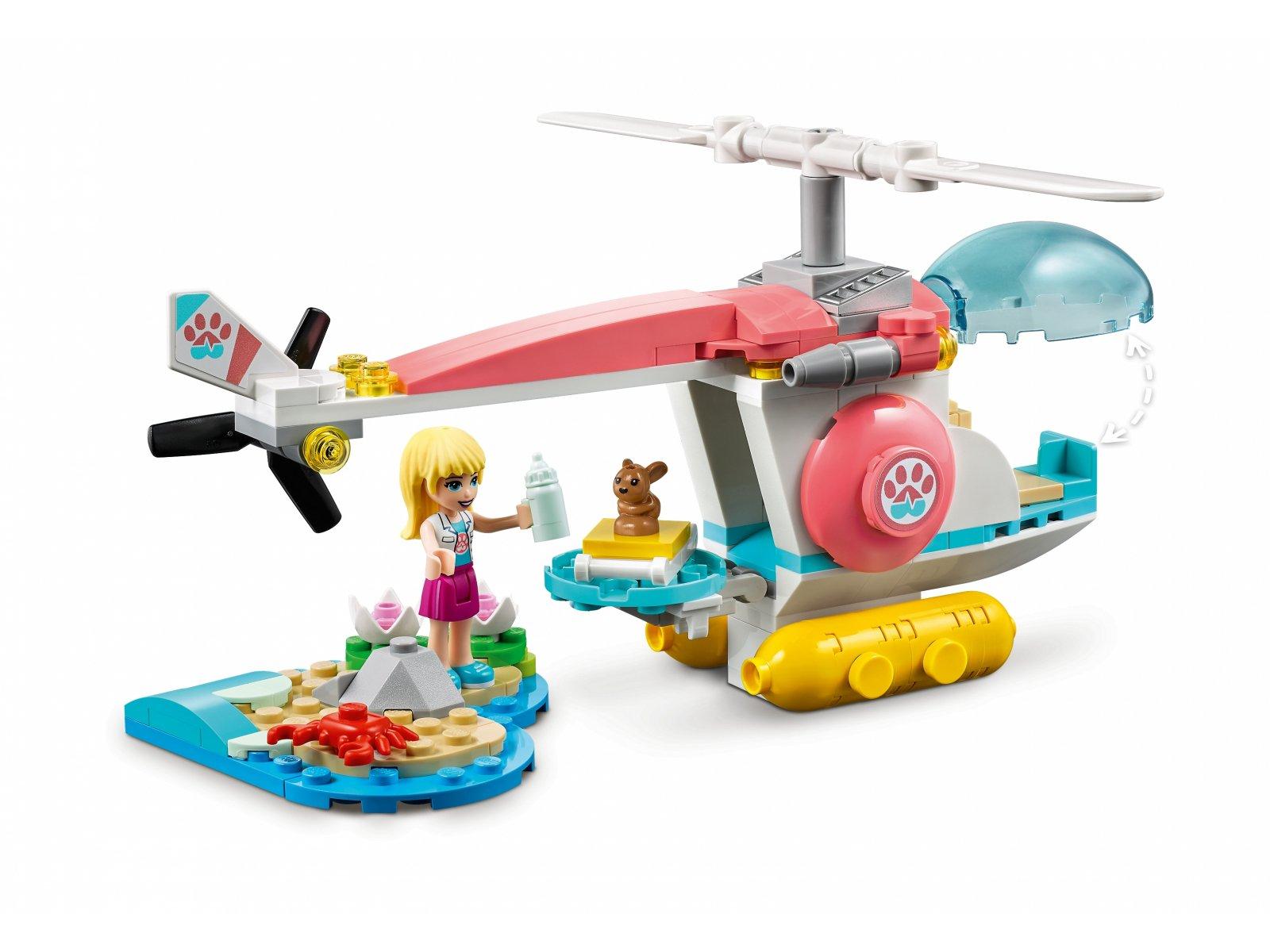 LEGO 41692 Weterynaryjny helikopter ratunkowy