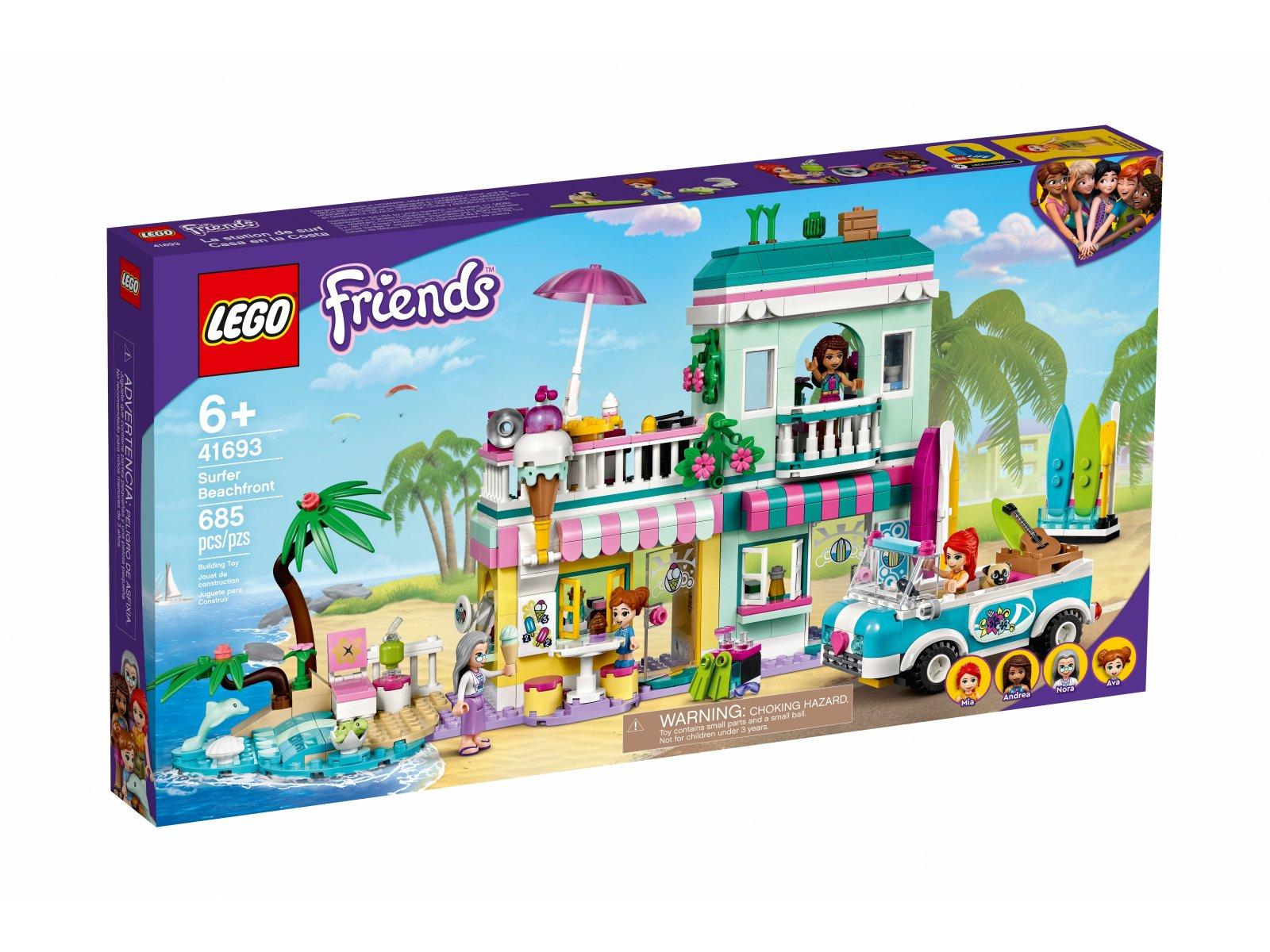 LEGO Friends Nabrzeże surferów 41693