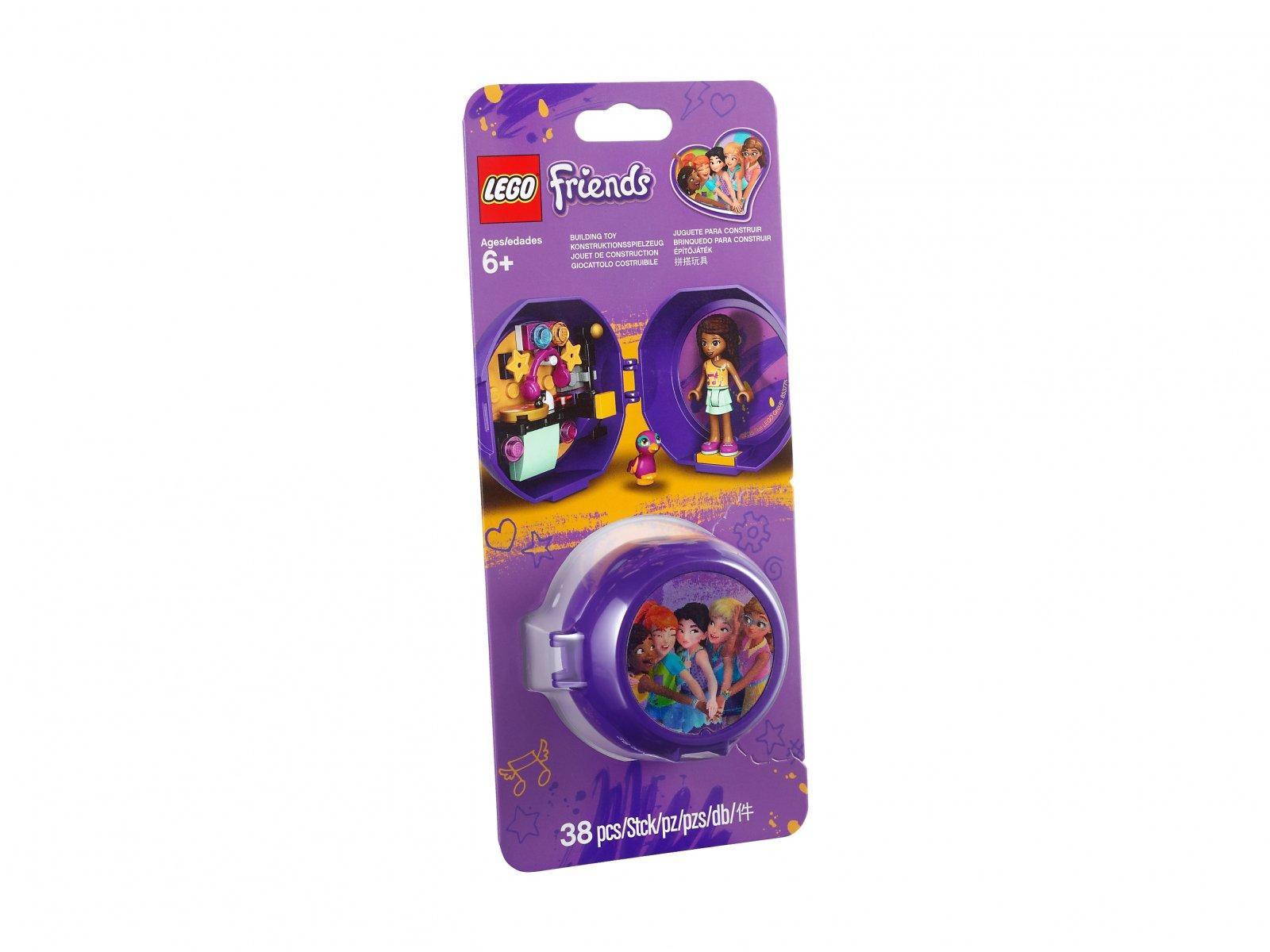 LEGO Friends 853775 Stanowisko DJ-a Andrei - kapsuła
