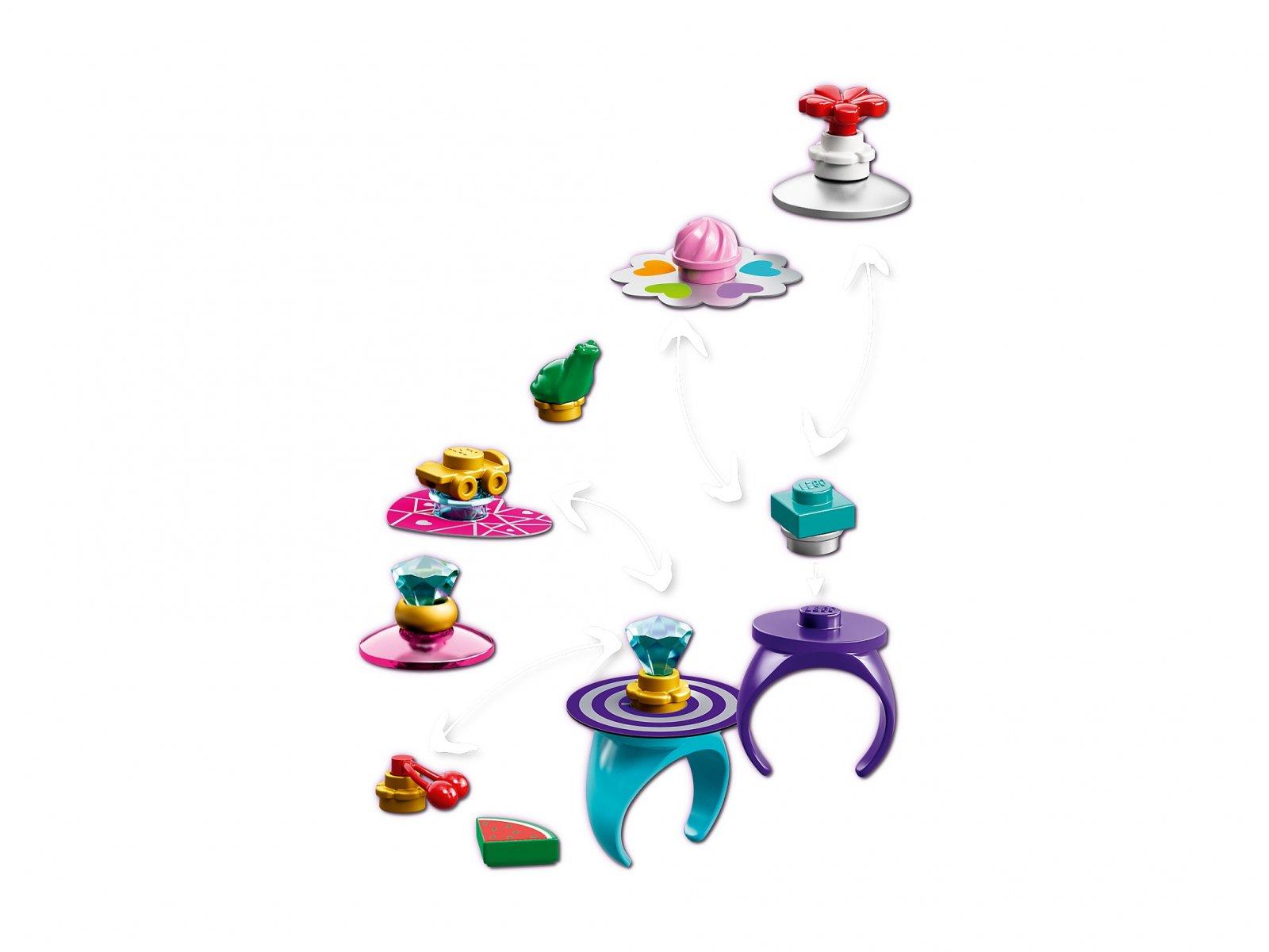 LEGO Friends Kreatywne pierścionki 853780