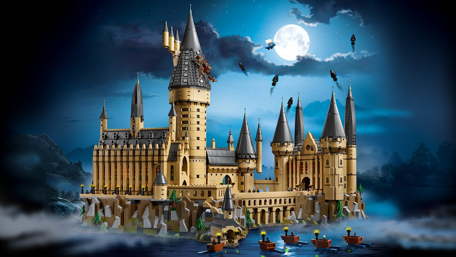 LEGO 71043 Zamek Hogwart™