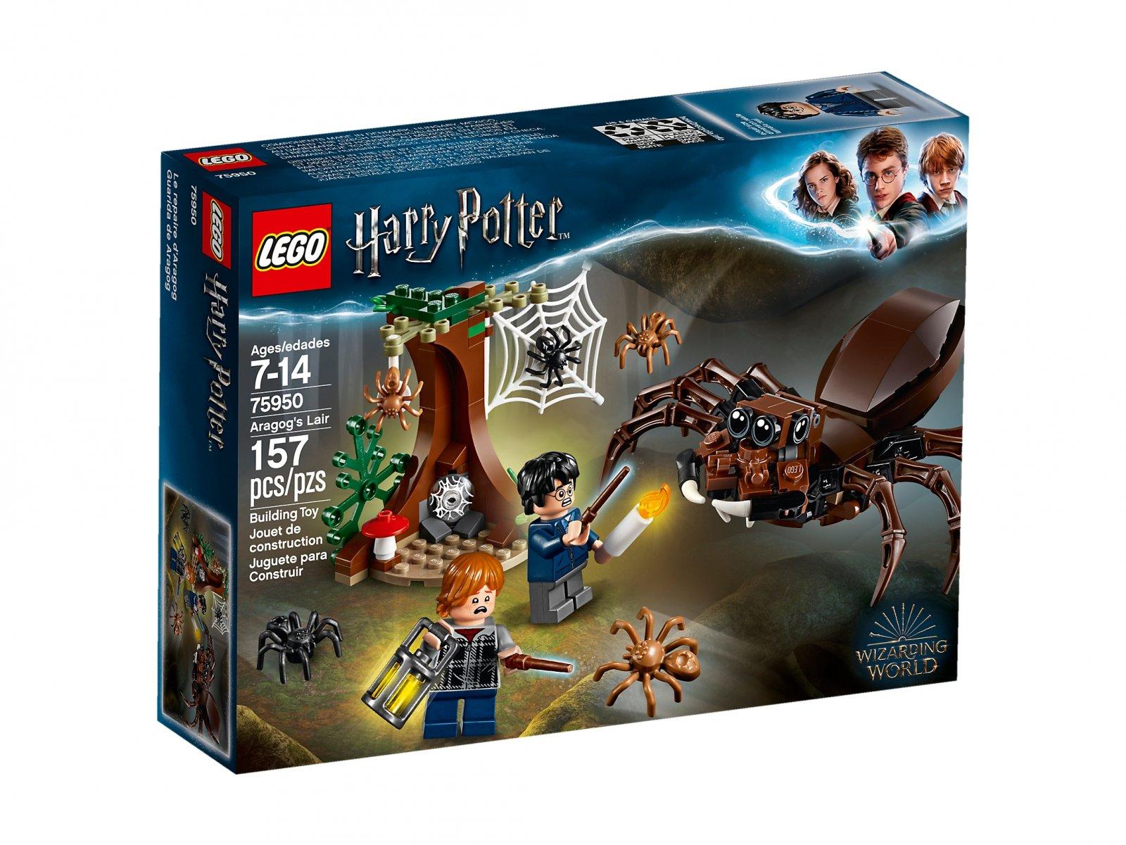 LEGO 75950 Harry Potter™ Legowisko Aragoga