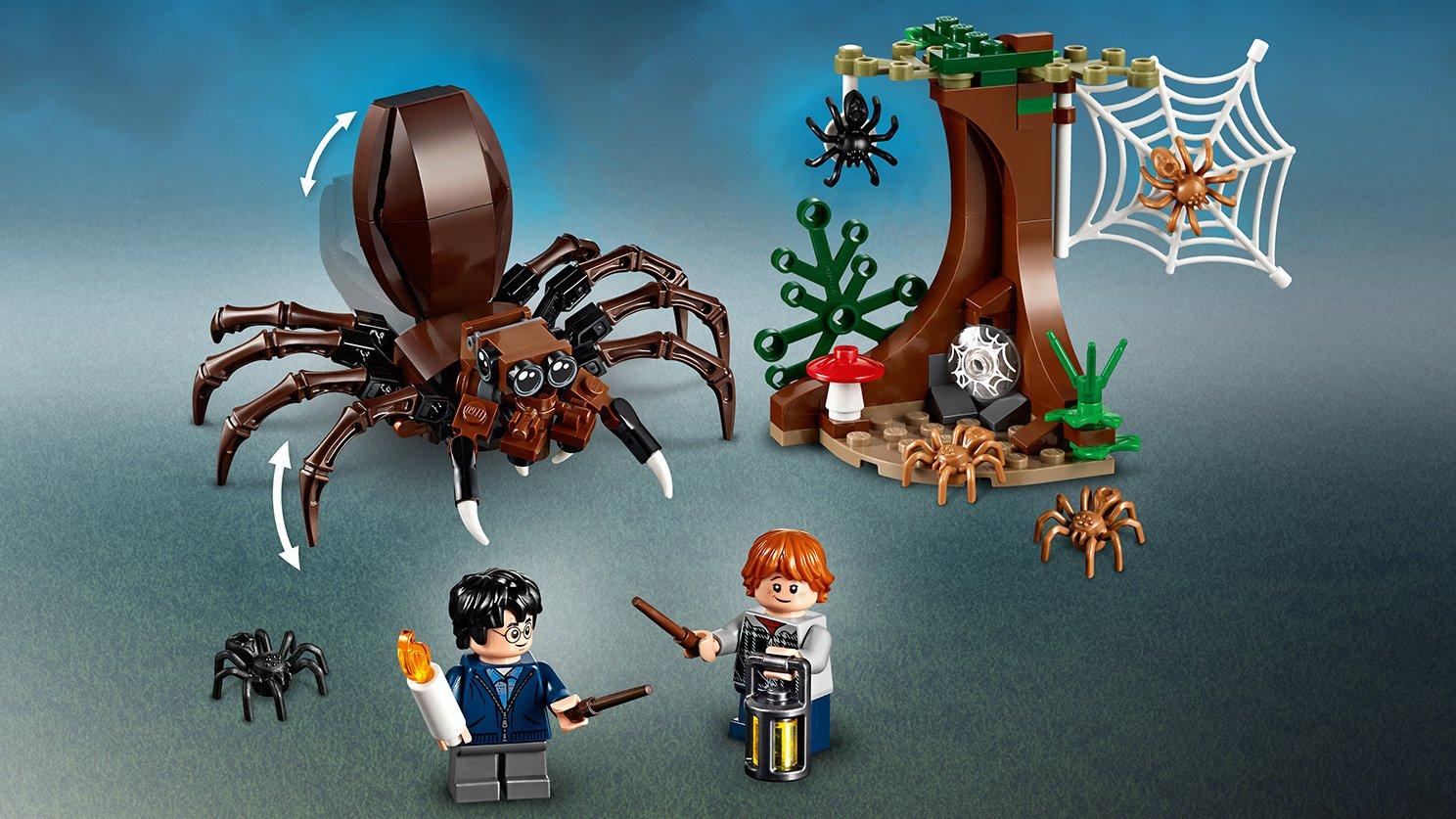 LEGO 75950 - LEGO Harry Potter™ 75950 Legowisko Aragoga - zdjęcie 10