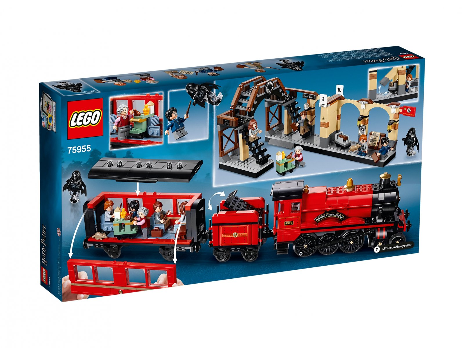 Lego 75955 Harry Potter Ekspres Do Hogwartu Zklockówpl