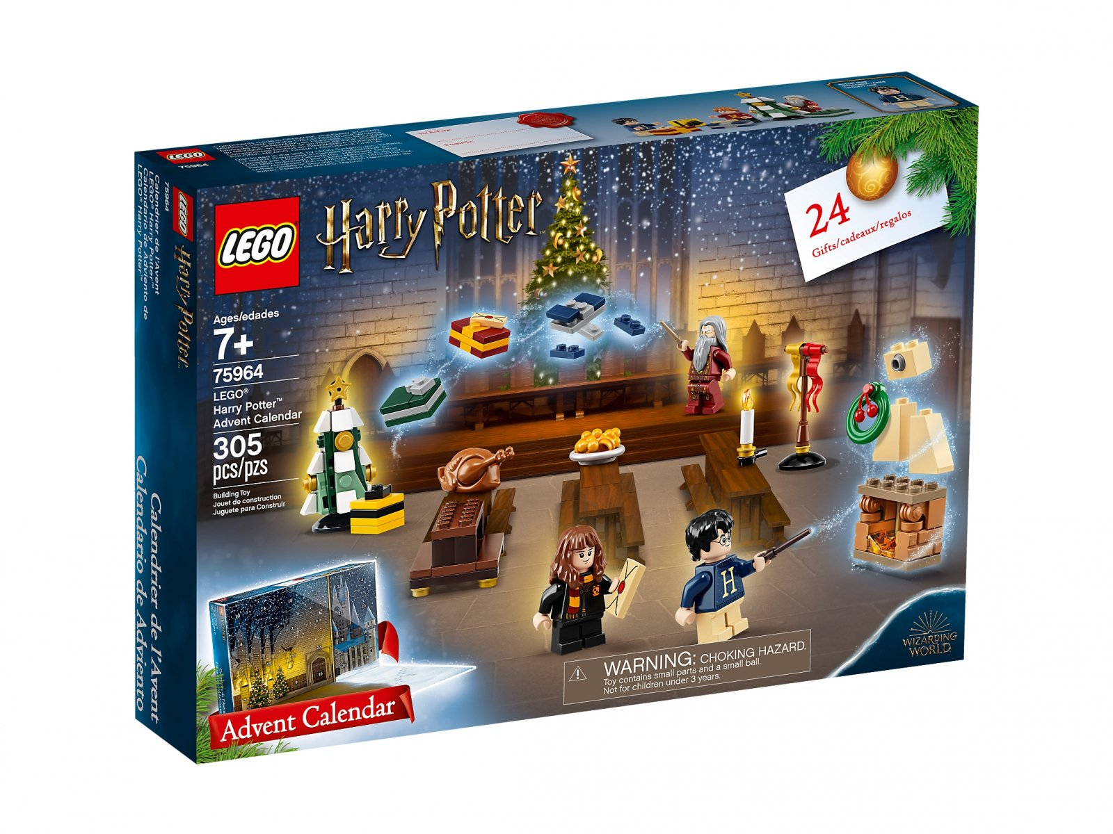LEGO Harry Potter™ 75964 Kalendarz adwentowy
