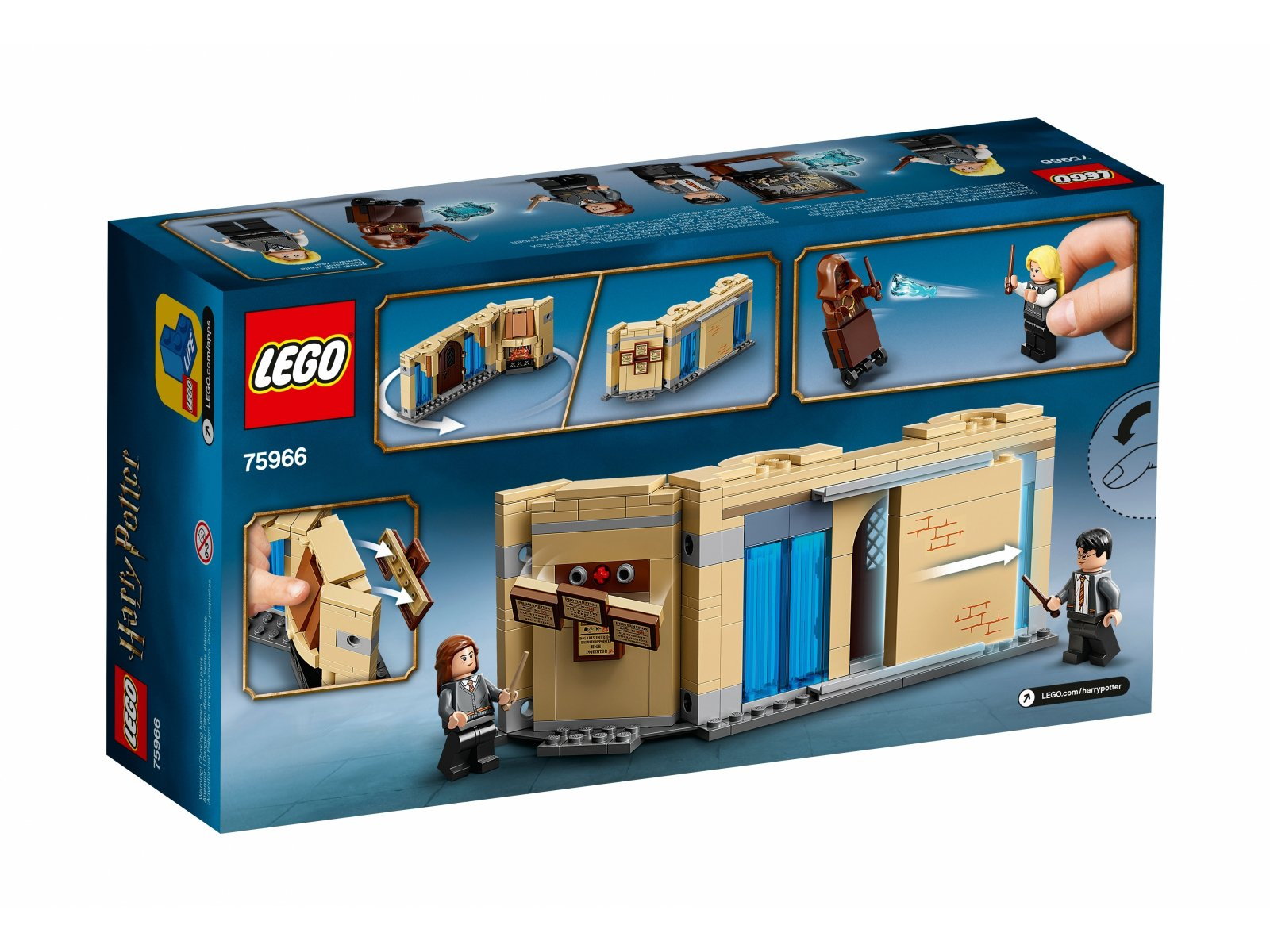 LEGO Harry Potter™ Pokój Życzeń w Hogwarcie™ 75966