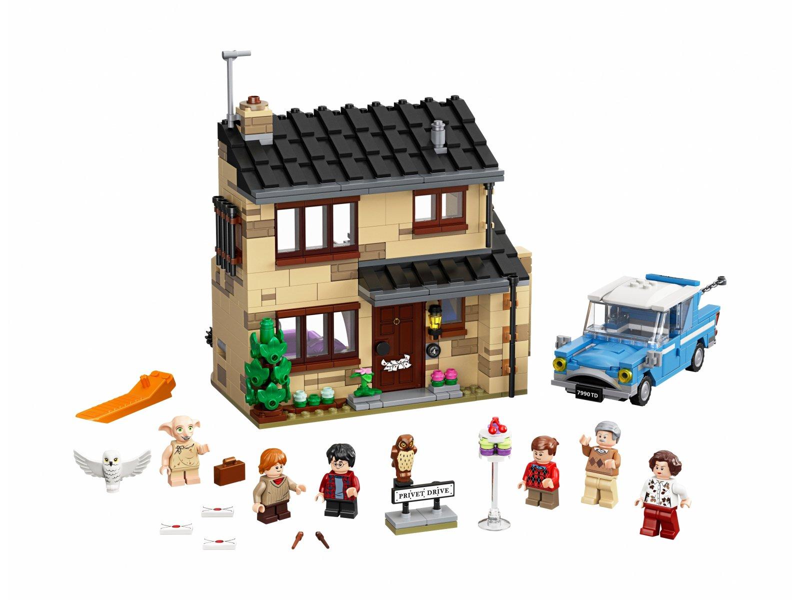LEGO Harry Potter™ 75968 Privet Drive 4