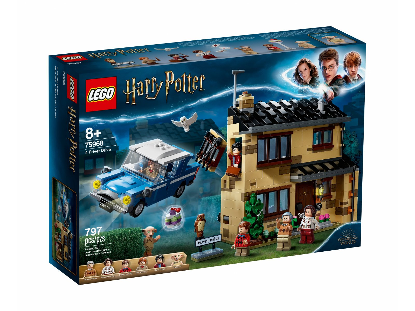 LEGO 75968 Harry Potter™ Privet Drive 4