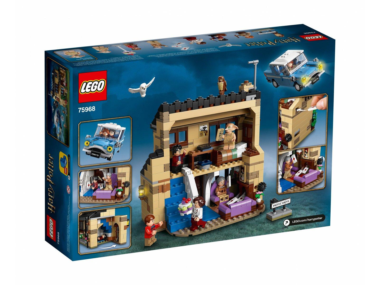 LEGO Harry Potter™ Privet Drive 4 75968