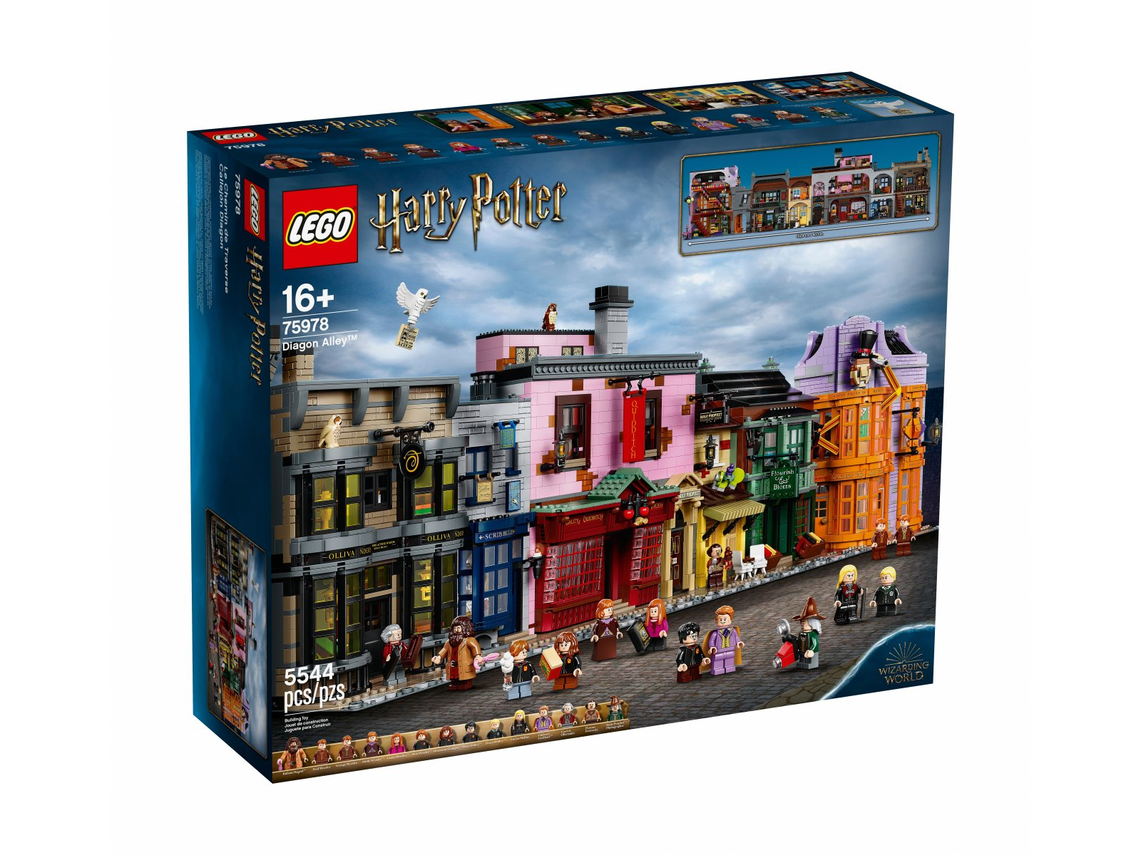 LEGO 75978 Harry Potter™ Ulica Pokątna™