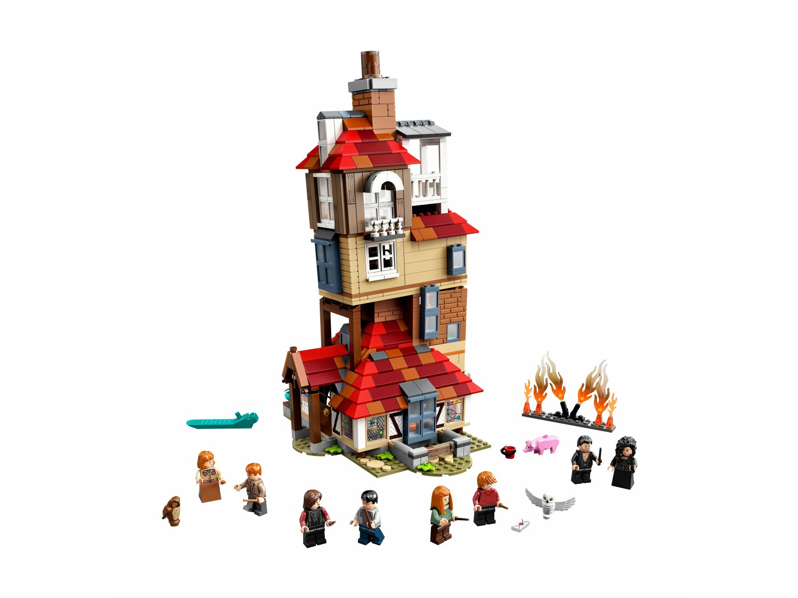 LEGO 75980 Harry Potter™ Atak na Norę