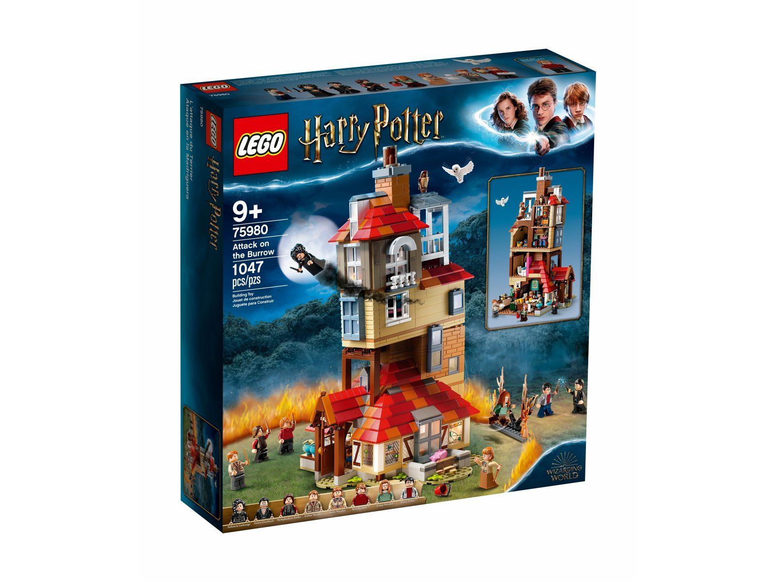 LEGO Harry Potter™ 75980 Atak na Norę