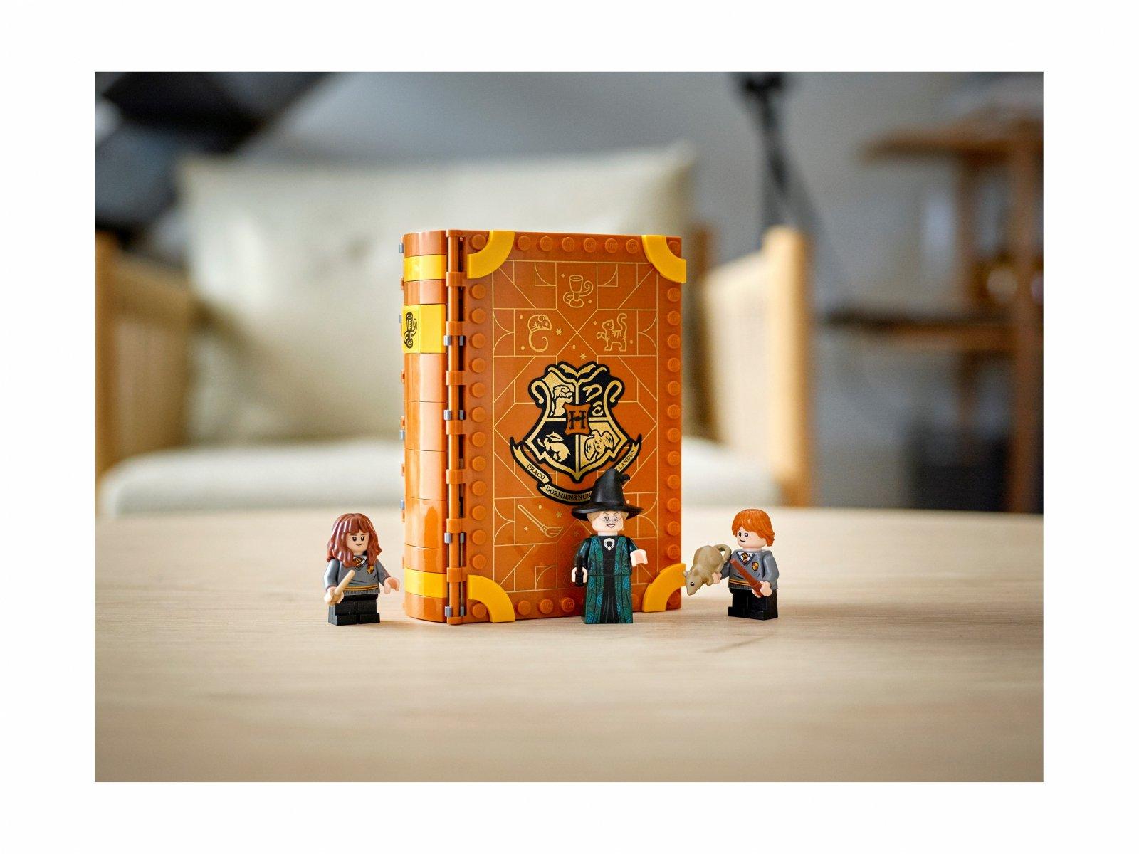 LEGO Harry Potter™ Chwile z Hogwartu™: zajęcia z transfiguracji 76382