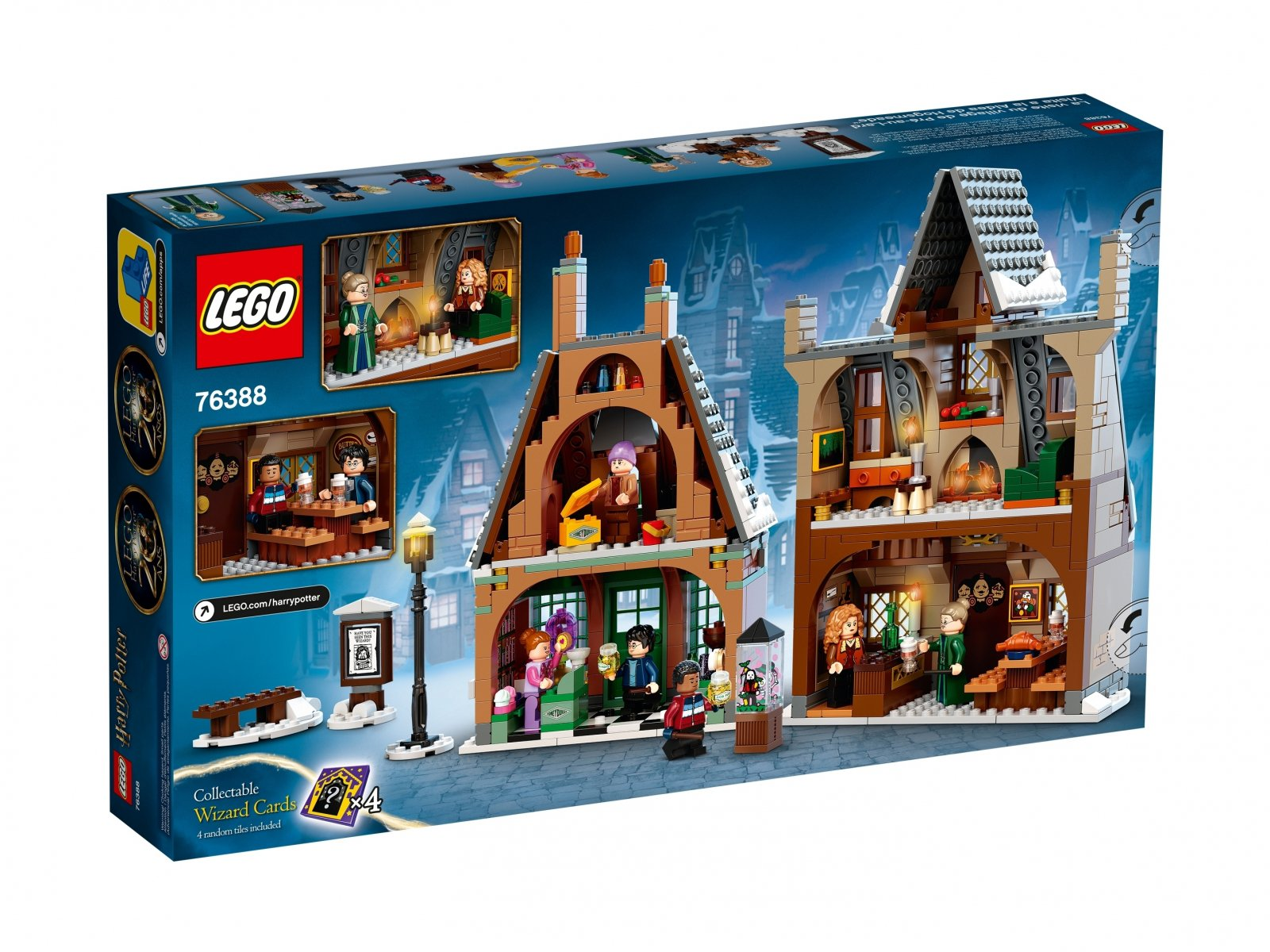 LEGO Harry Potter Wizyta w wiosce Hogsmeade™ 76388