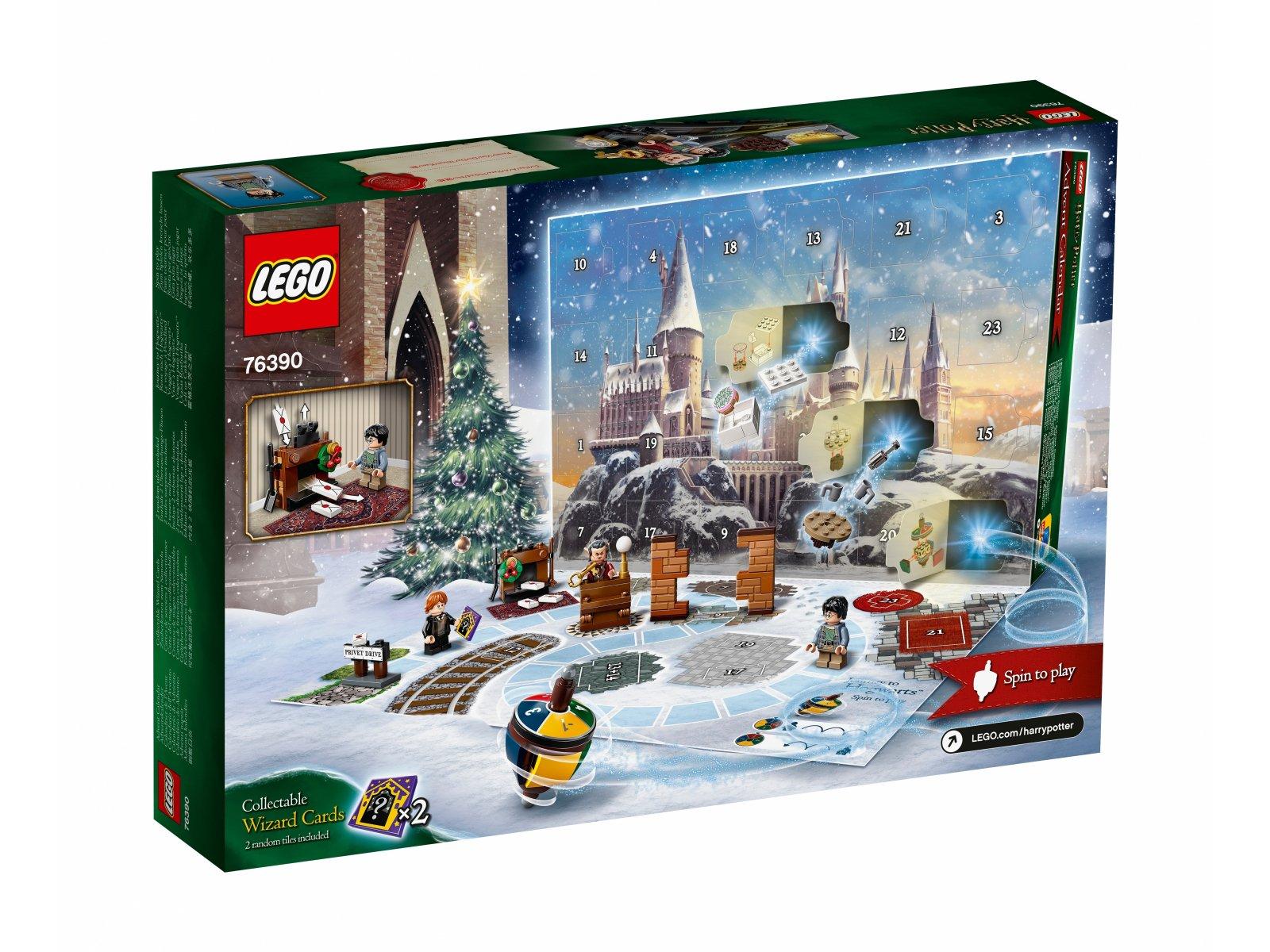 LEGO Harry Potter Kalendarz adwentowy 76390