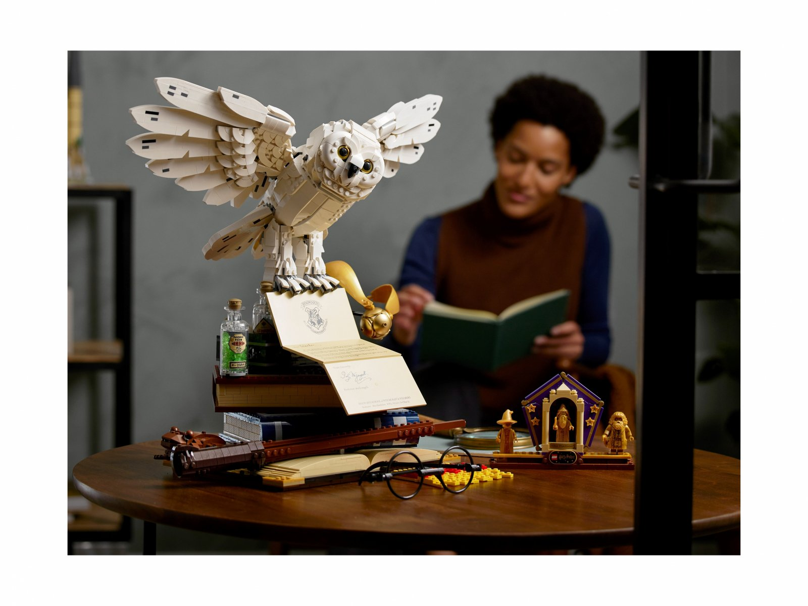 LEGO Harry Potter Ikony Hogwartu — edycja kolekcjonerska 76391