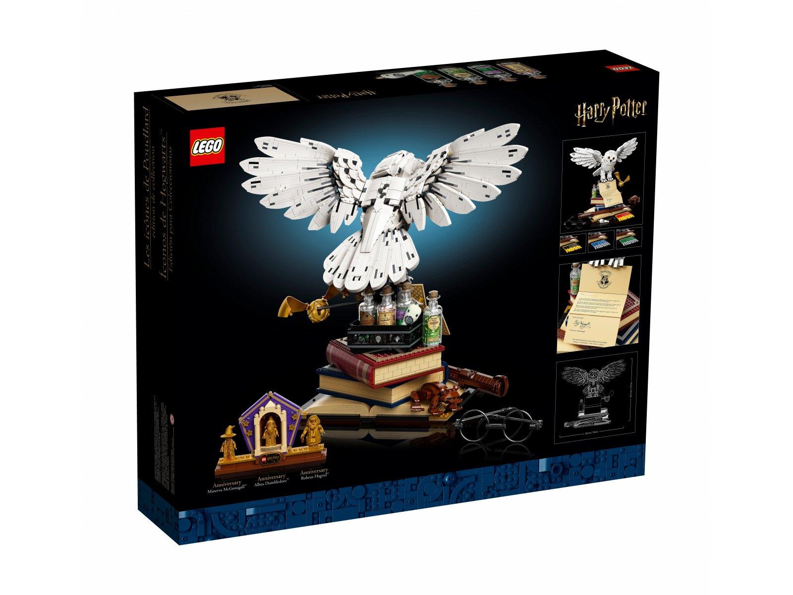 LEGO Harry Potter 76391 Ikony Hogwartu — edycja kolekcjonerska