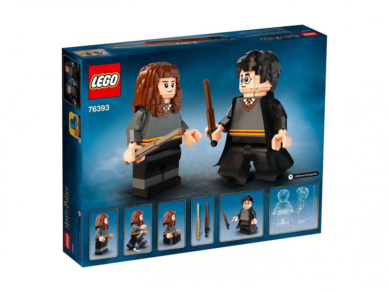 LEGO 76393 Harry Potter Harry Potter™ i Hermiona Granger™