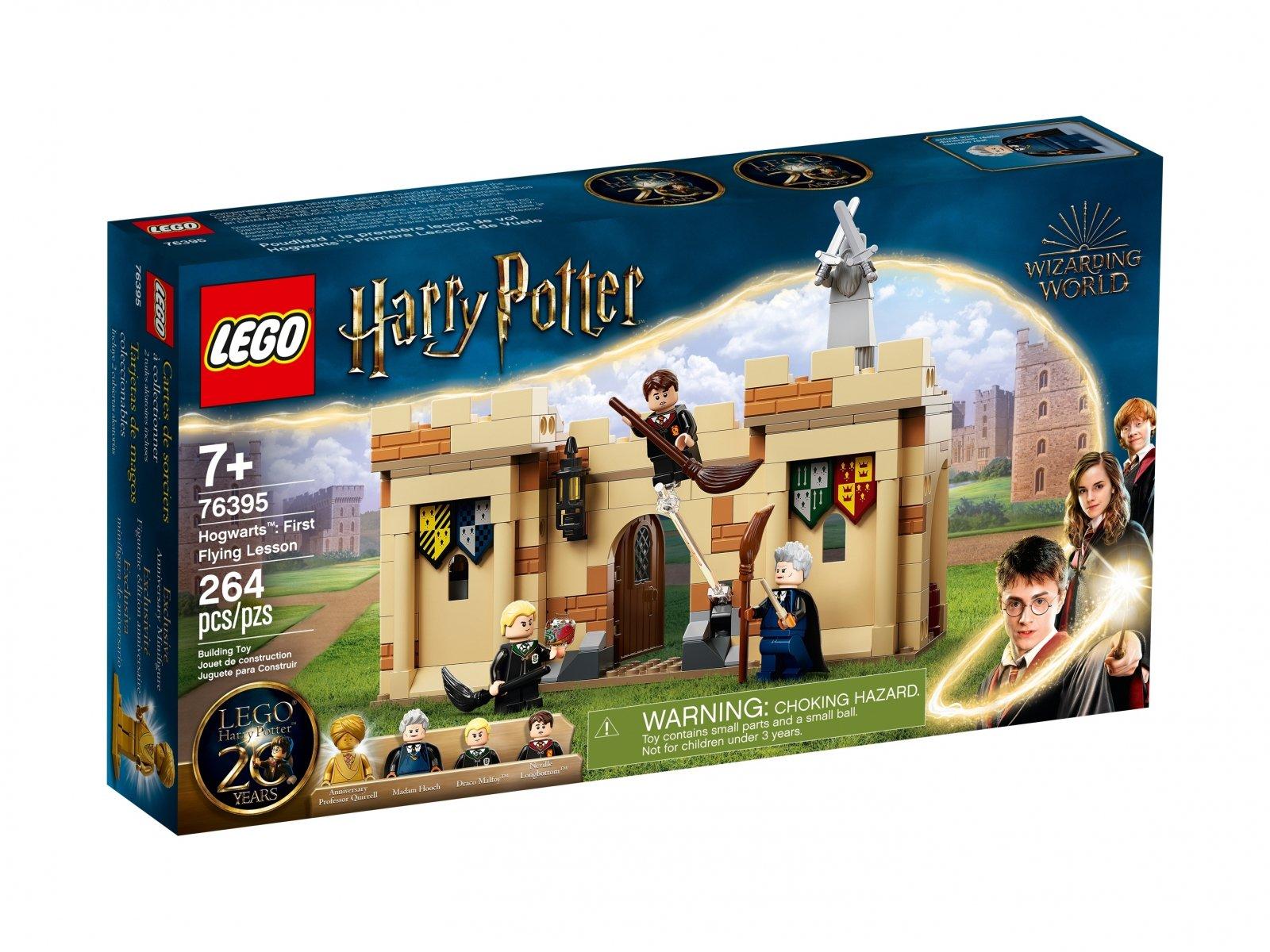 LEGO 76395 Harry Potter Hogwart™: Pierwsza lekcja latania