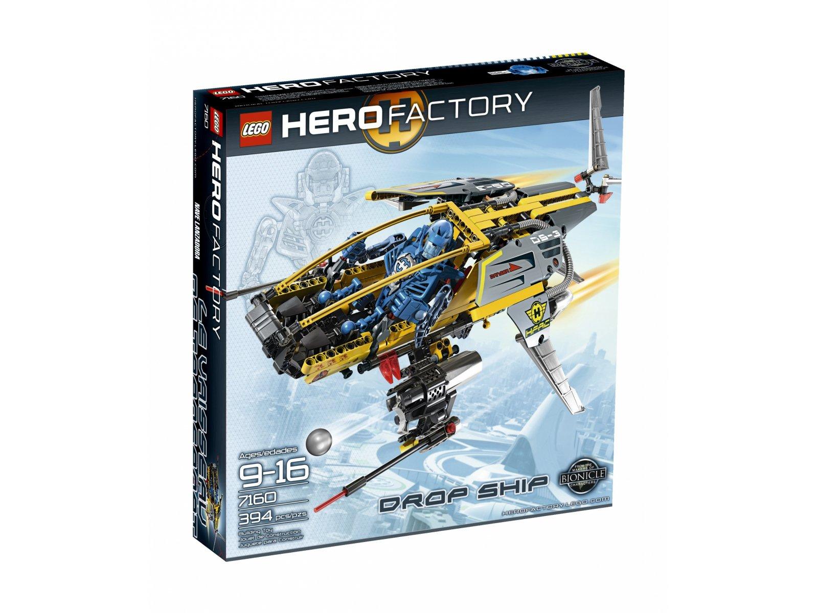 LEGO Hero Factory Drop Ship 7160