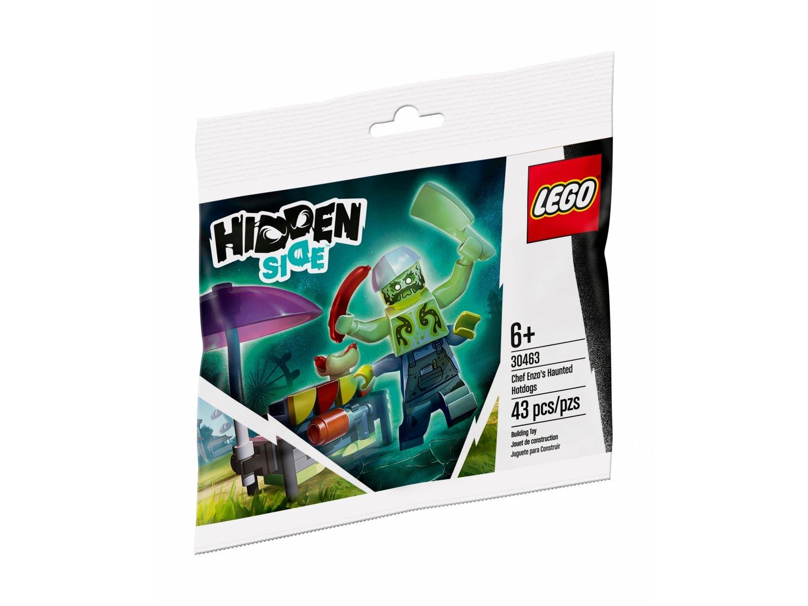LEGO 30463 Hidden Side Nawiedzone hot dogi kucharza Enzo