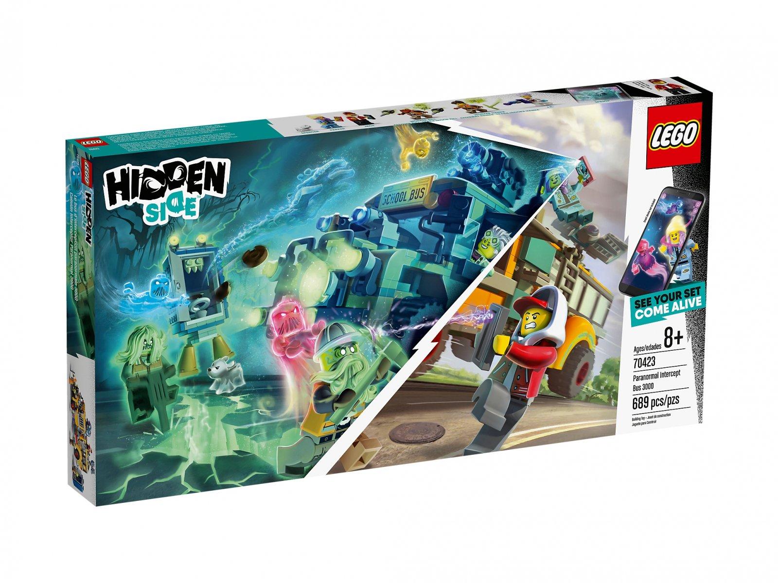 LEGO Hidden Side™ 70423 Autobus Duchozwalczacz 3000