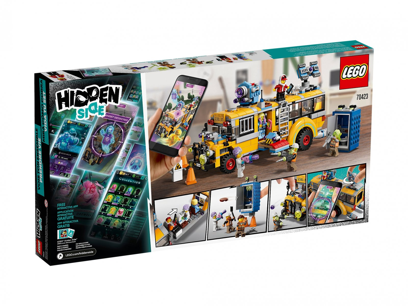 LEGO Hidden Side™ Autobus Duchozwalczacz 3000 70423