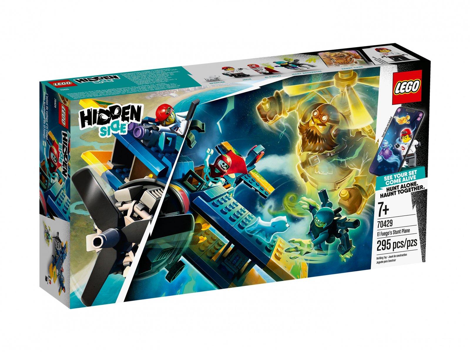 LEGO Hidden Side™ Samolot kaskaderski El Fuego 70429