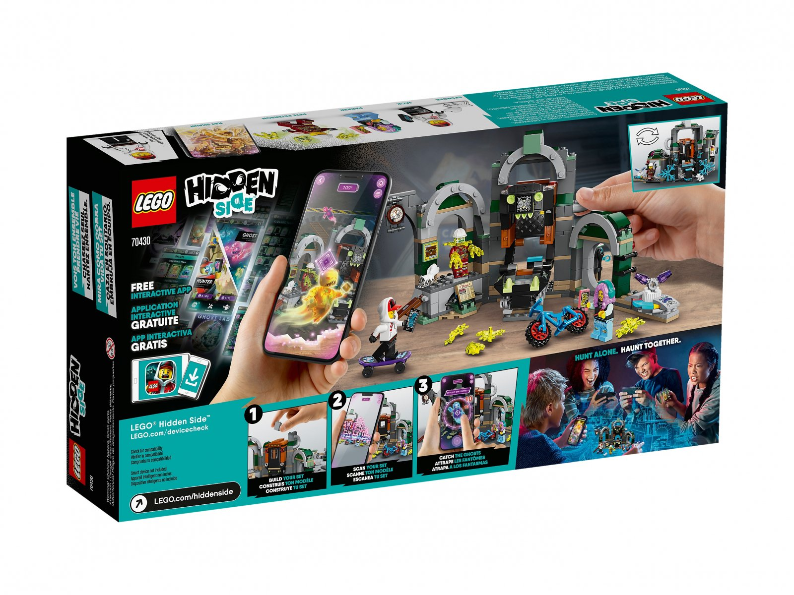 LEGO Hidden Side™ 70430 Metro w Newbury