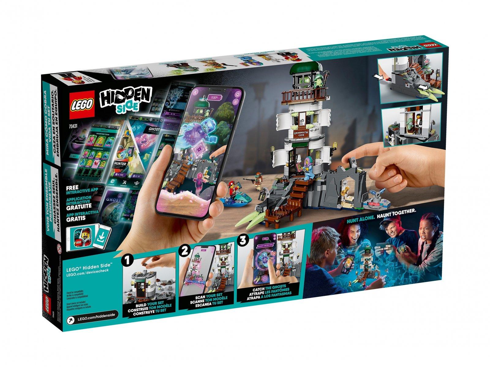 LEGO 70431 Hidden Side™ Latarnia ciemności