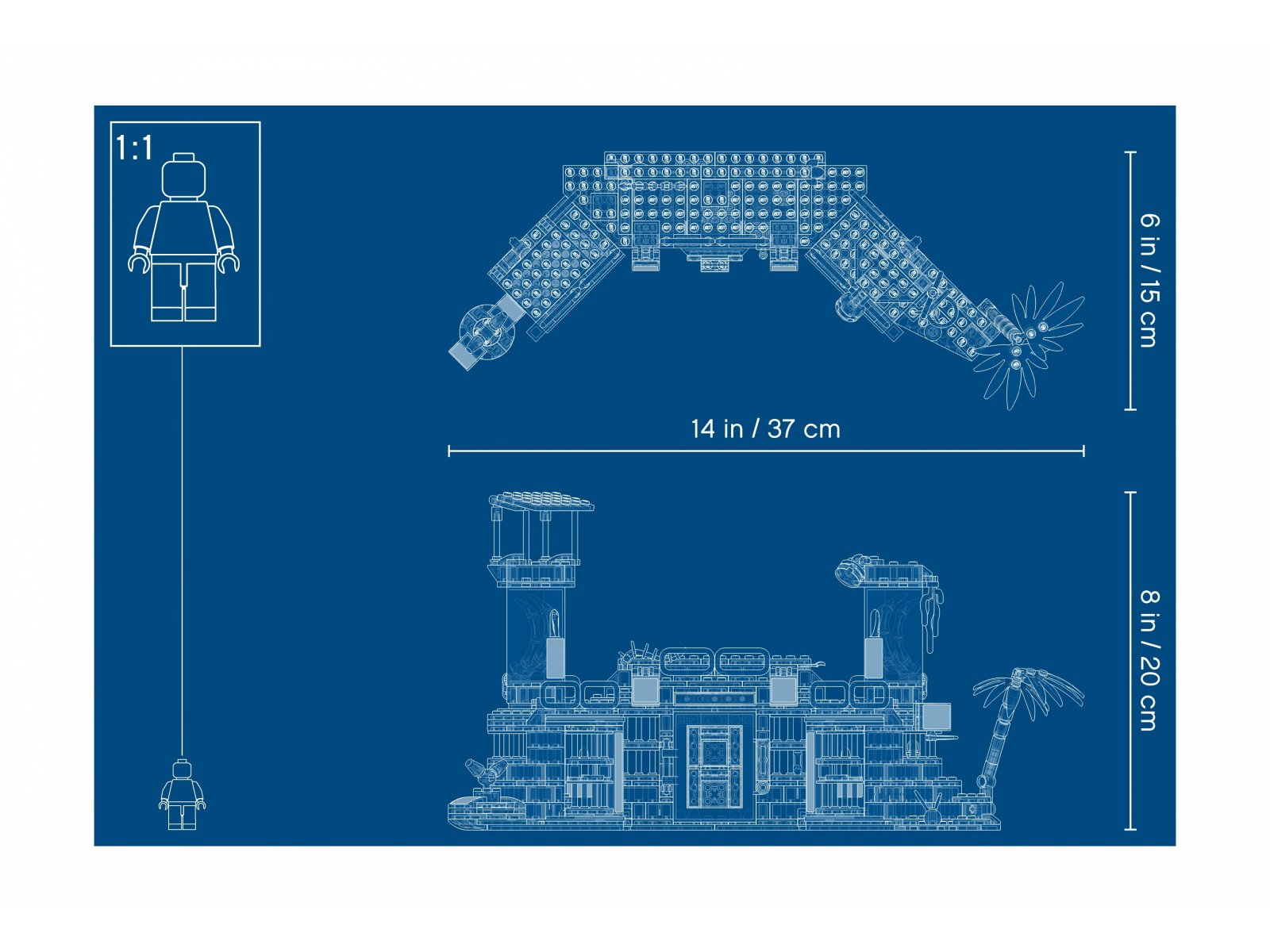 LEGO Hidden Side™ 70435 Opuszczone więzienie w Newbury