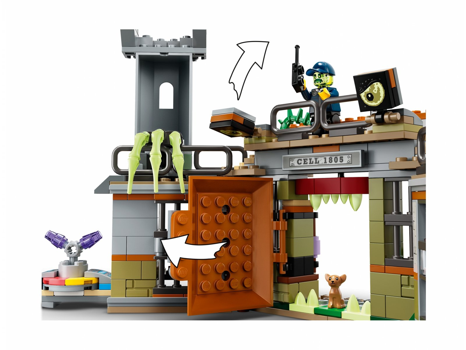 LEGO Hidden Side™ Opuszczone więzienie w Newbury 70435
