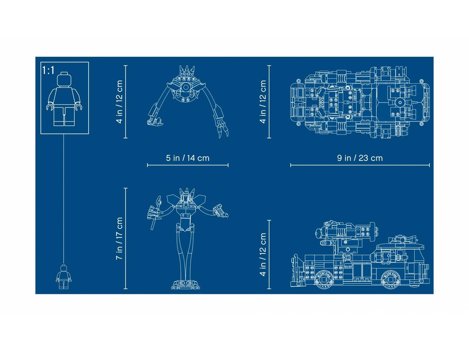LEGO 70436 Widmowy wóz gaśniczy 3000