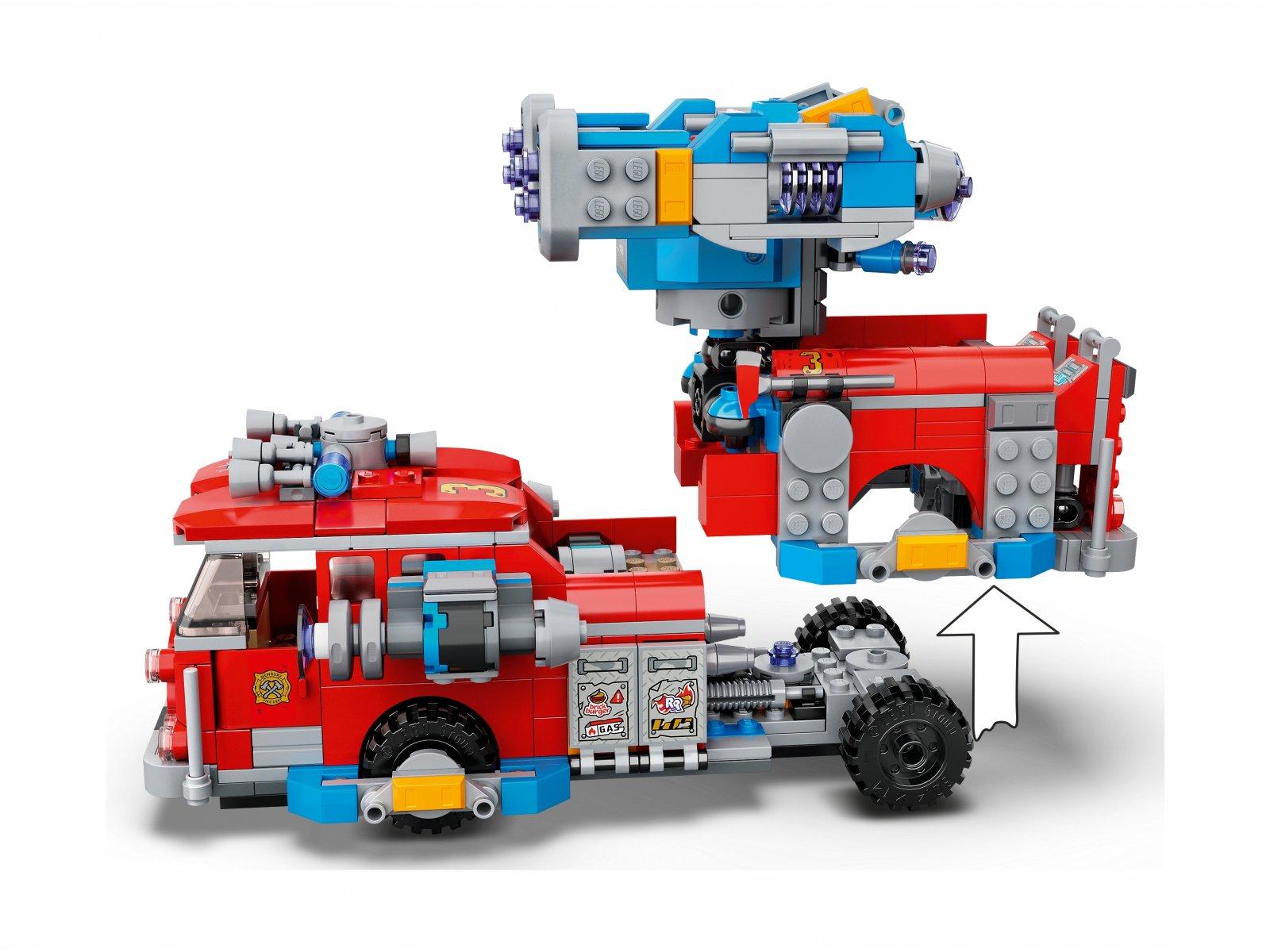 LEGO Hidden Side™ Widmowy wóz gaśniczy 3000 70436