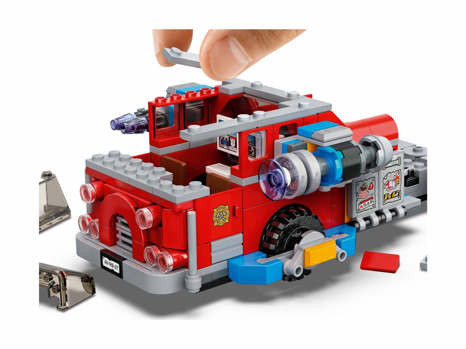 LEGO 70436 Hidden Side™ Widmowy wóz gaśniczy 3000