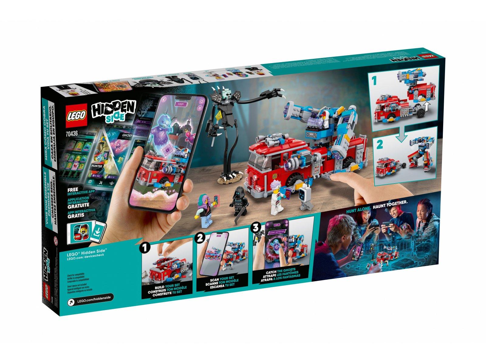 LEGO Hidden Side™ 70436 Widmowy wóz gaśniczy 3000