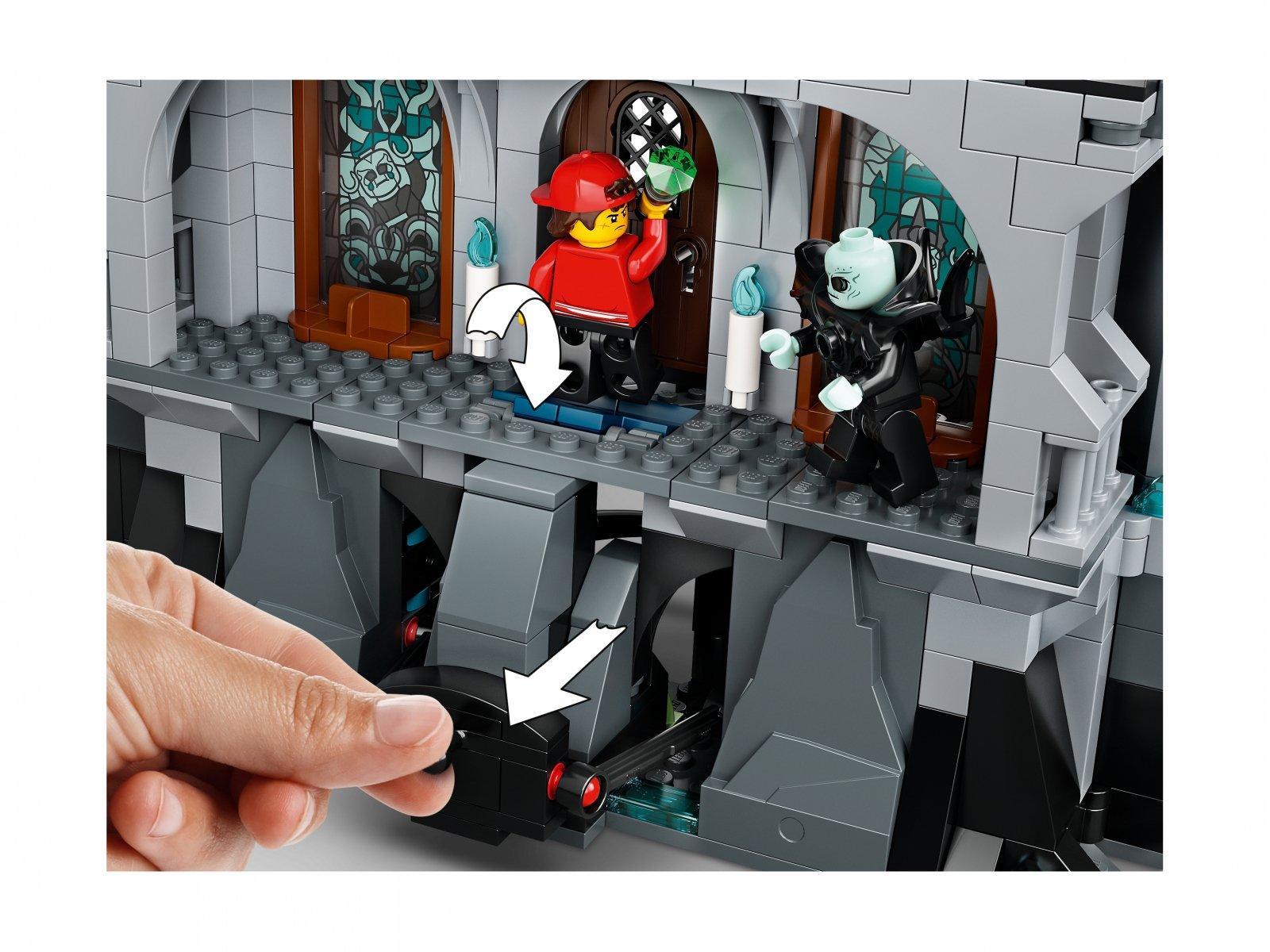 LEGO 70437 Hidden Side™ Tajemniczy zamek