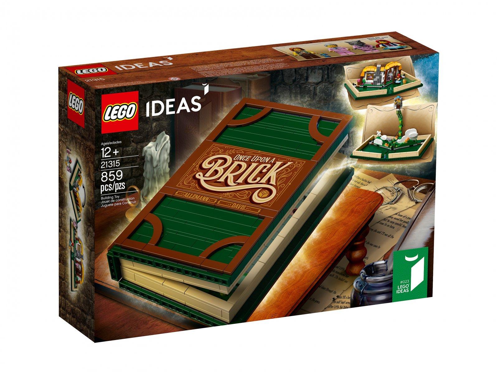 LEGO 21315 Ideas Wyskakująca książką
