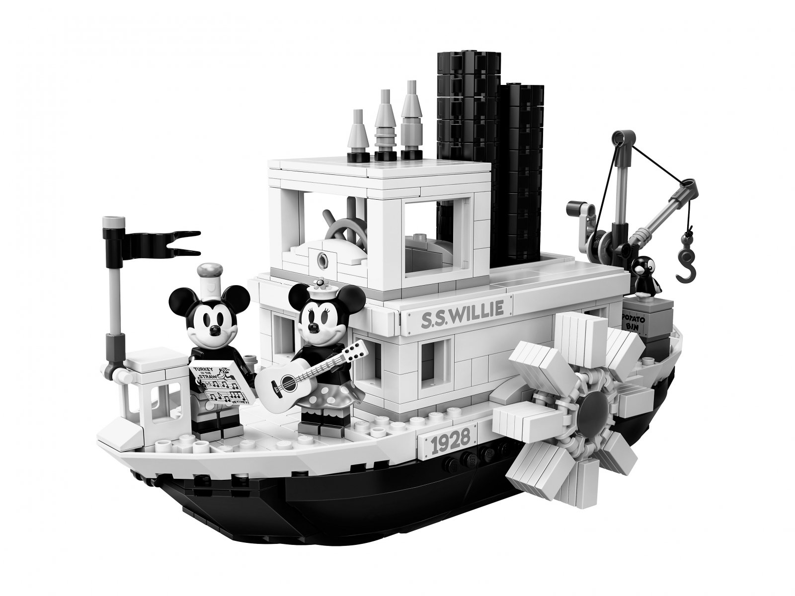 LEGO Ideas Parowiec Willie 21317