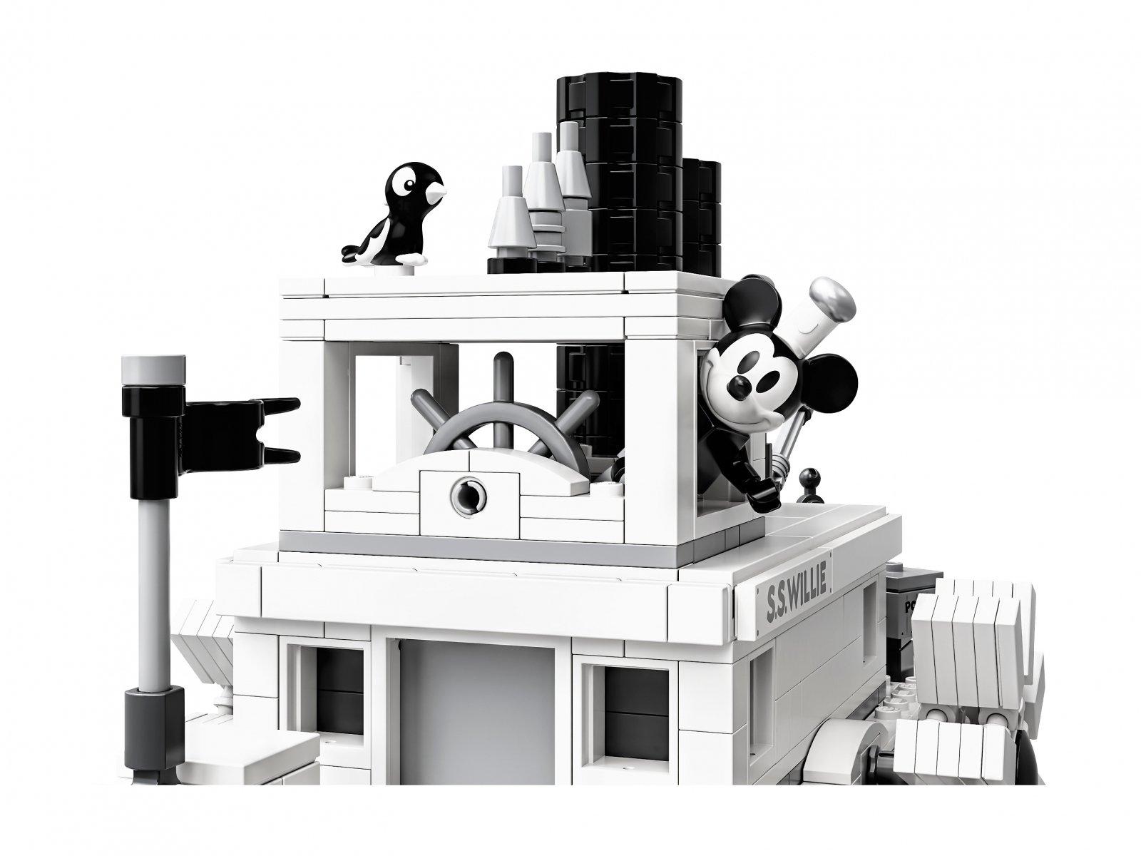 LEGO Ideas Parowiec Willie 21317
