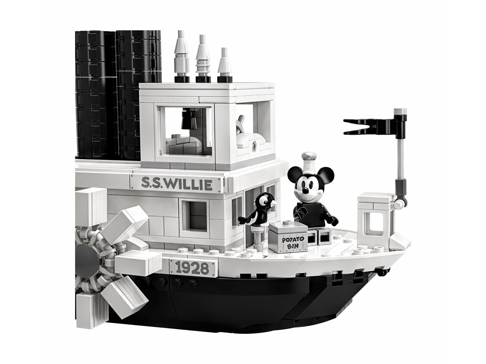 LEGO 21317 Ideas Parowiec Willie