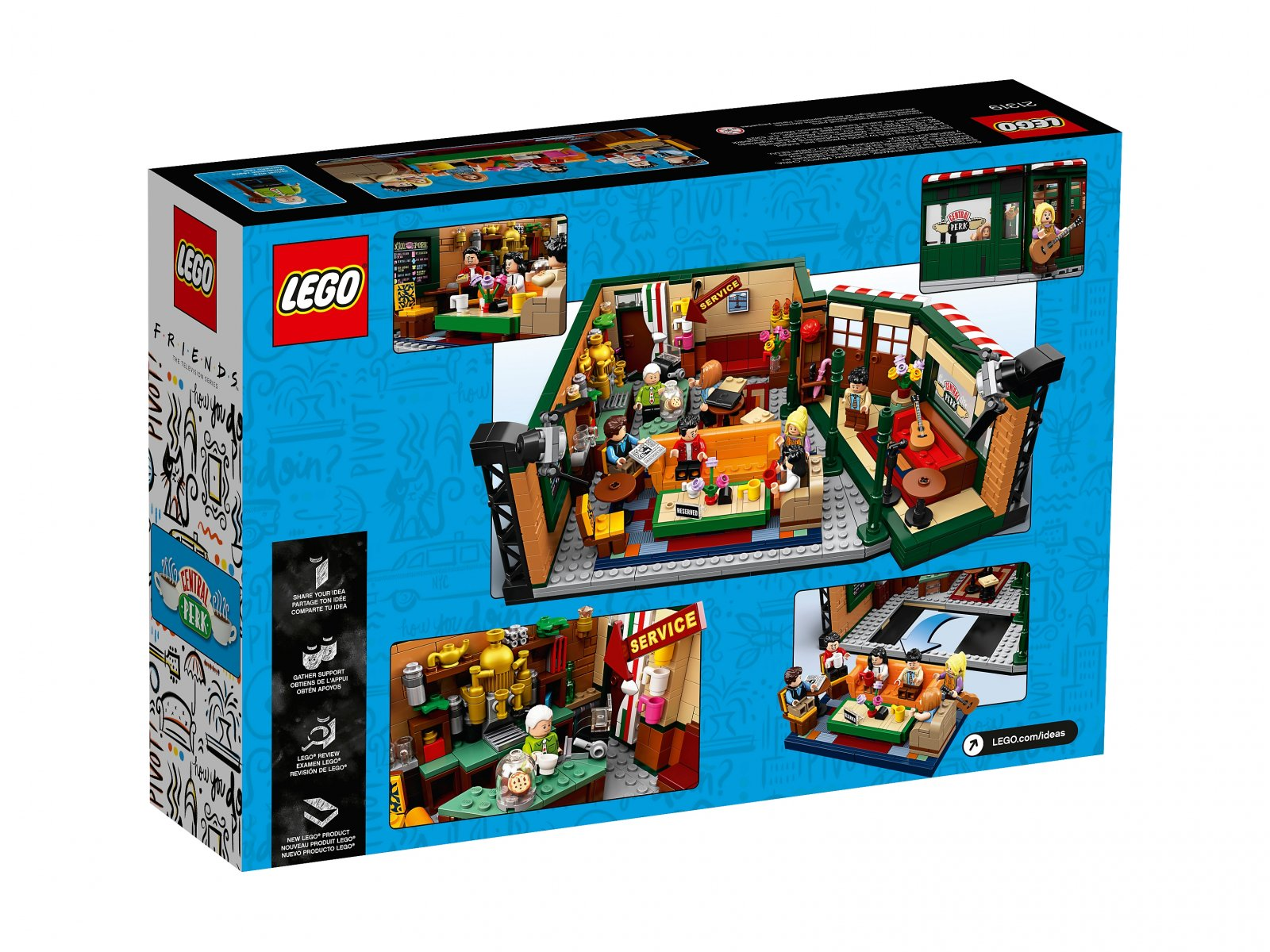 LEGO Ideas Central Perk 21319