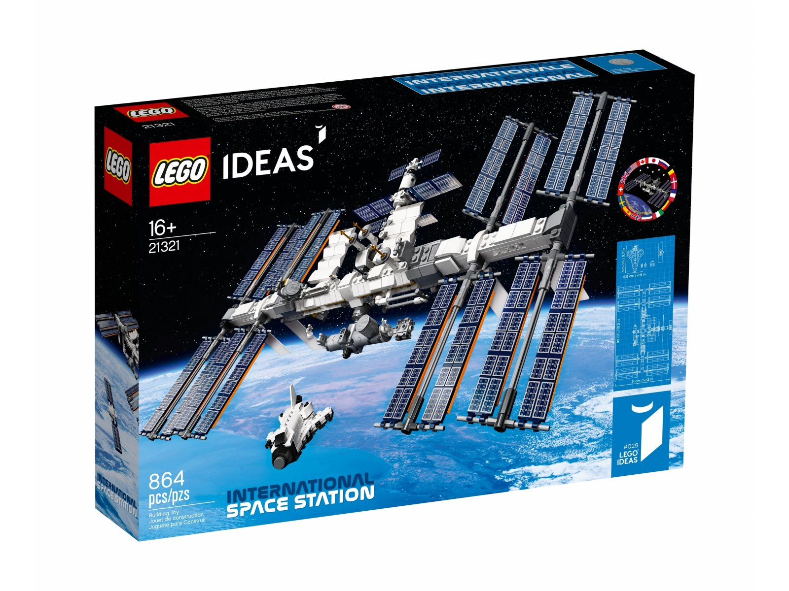 LEGO Ideas Międzynarodowa Stacja Kosmiczna 21321
