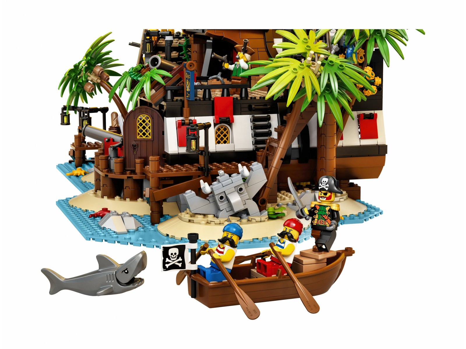 LEGO 21322 Ideas Piraci z Zatoki Barakud
