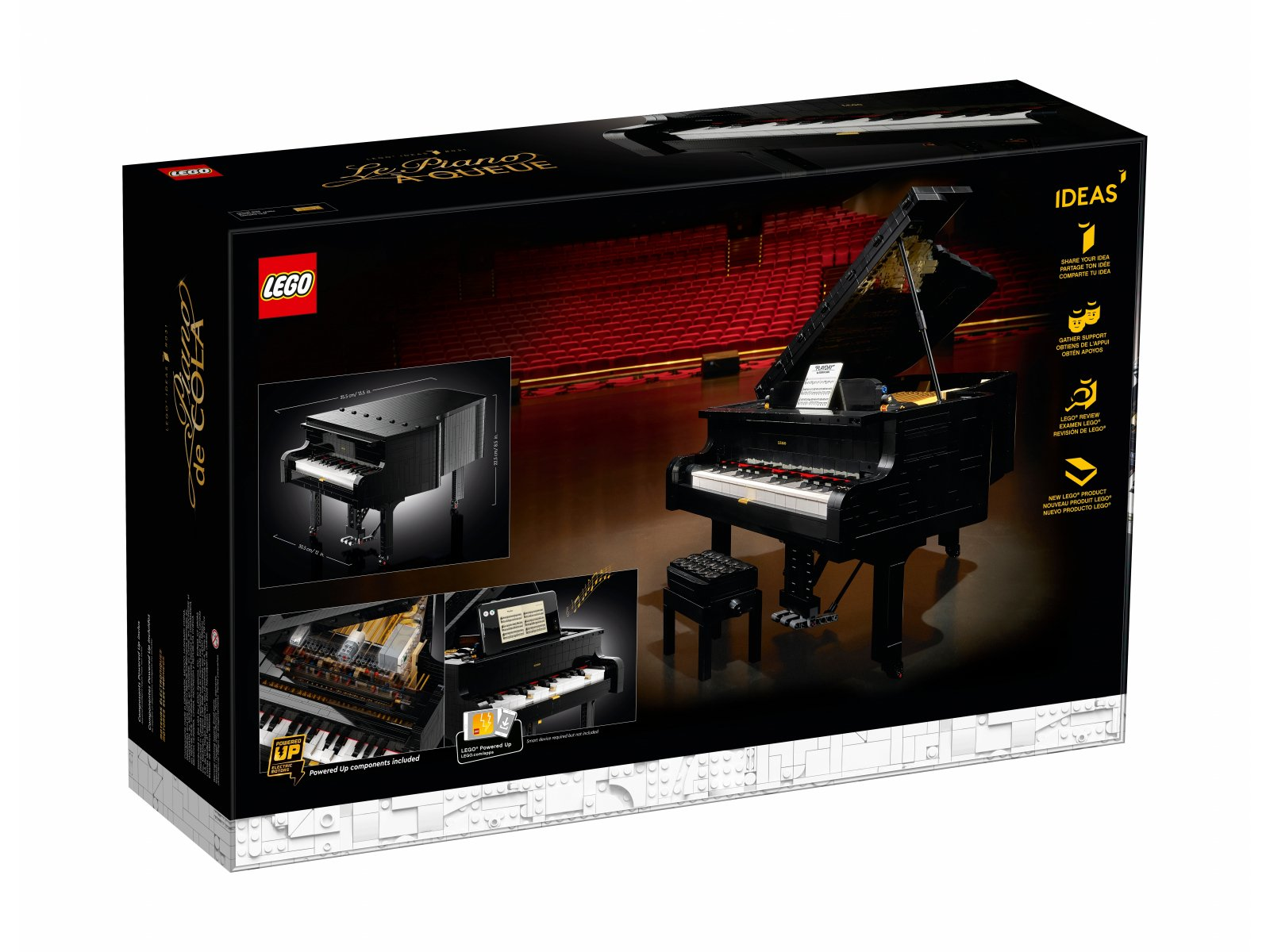LEGO 21323 Ideas Fortepian